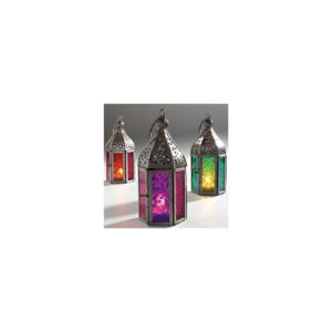 Authentic Moroccan Style Tonal Mini Glass