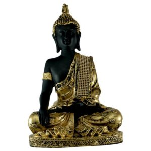 Meditating Lord Buddha Resin Idol